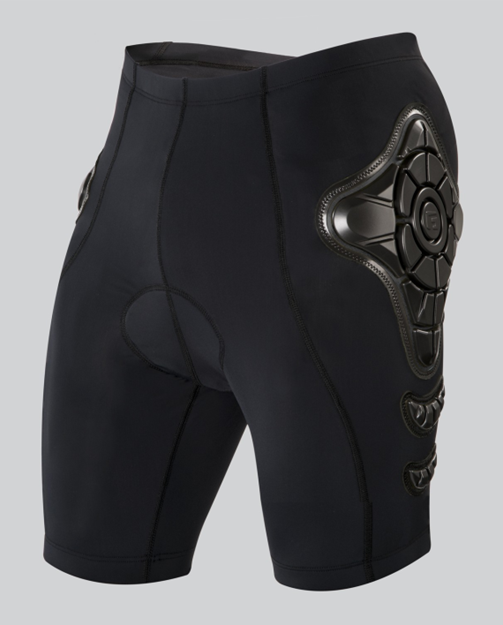 G-FORM MENS PRO-B BIKE COMPRESSION SHORTS WITH CHAMOIS